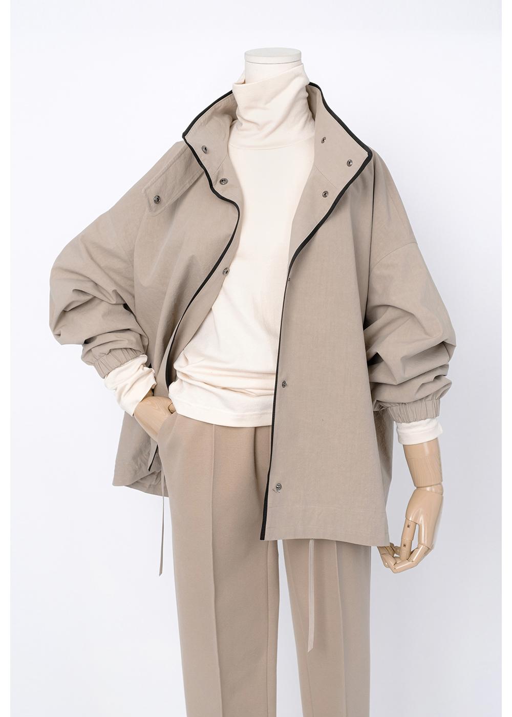재킷 크림 색상 이미지-S1L11