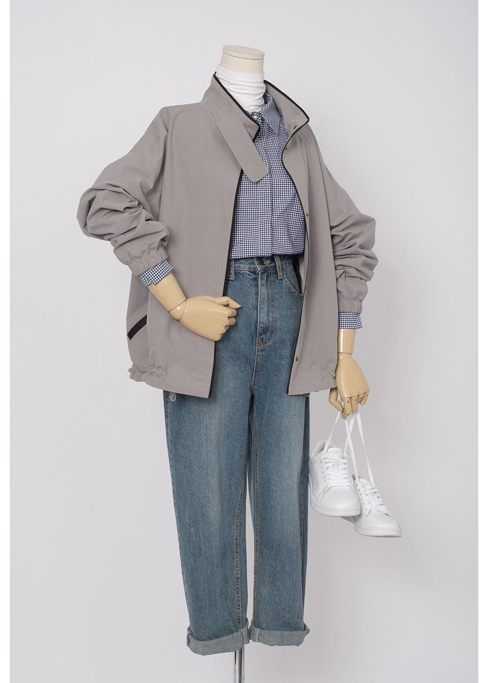 재킷 모델 착용 이미지-S1L2